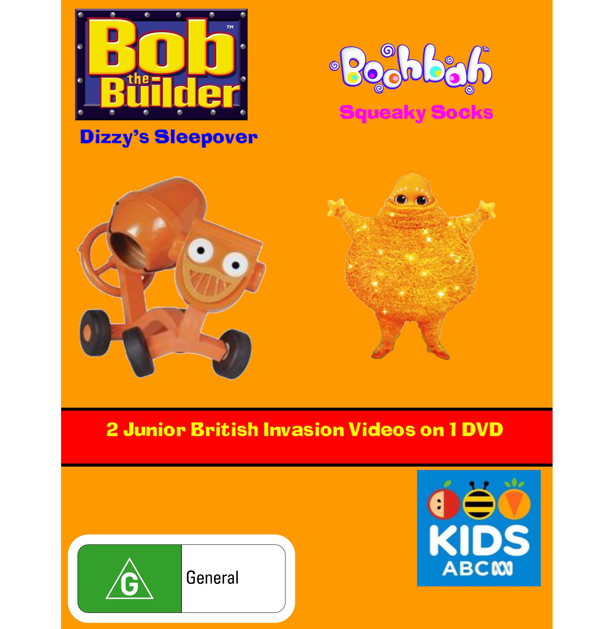 Bob the Builder and Boohbah: Dizzy's Sleepover and Squeaky Socks