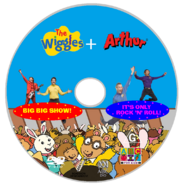 The Wiggles and Arthur - Big, Big Show and It's Only Rock N Roll DVD Disc