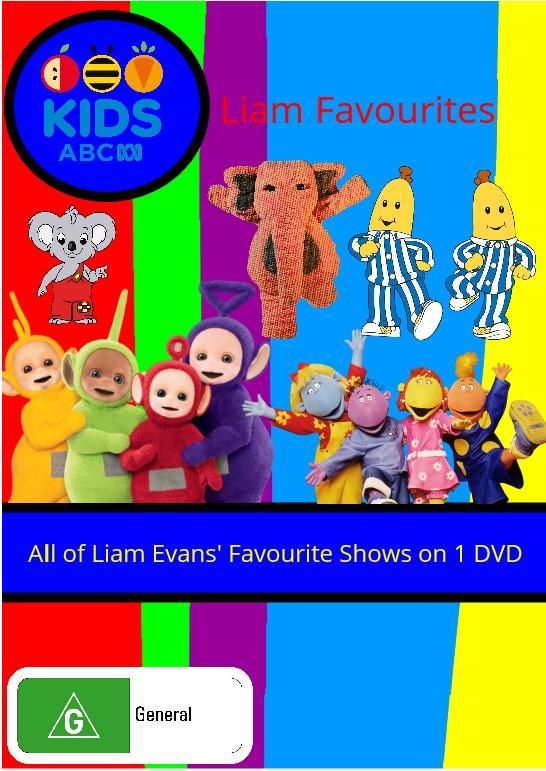 ABC For Kids Fanon - ABC For Kids - Liam Favourites