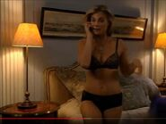 One Life To Live - September 16, 2010 - Kelly Cramer (Gina Tognoni) In Her Black Lace Bra And Her Black Lace Underwear