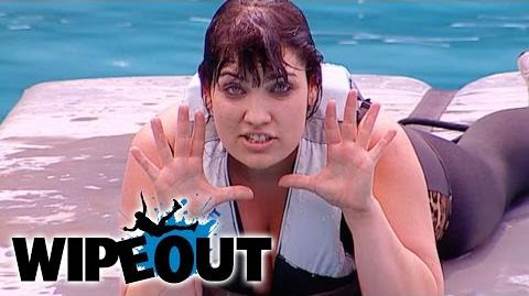 Cougar in the qualifying round Wipeout