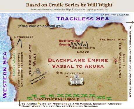 Blackflame Empire map