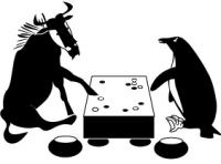 Logomarca do GNU Go. Obtida via Wikimedia Commons