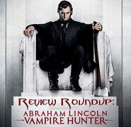 Abraham lincoln vampire hunter review-roundup