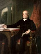 John Quincy Adams by GPA Healy, 1858