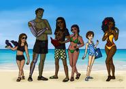 Beach woe