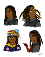 Masego Sketches by Gwennafran