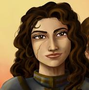 Rozala portrait by Gwennafran