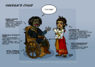 Hakrams chair
