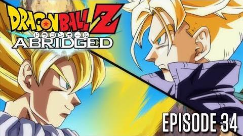 TFS Dragon Ball Z: Abridged Parody Episode 34