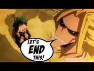 My Urban Academia Episode 5- Deku & All-Might's Ri-DICK-ulous Finale - Boku No Hero Funny Comic Dub