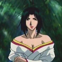 Samurai Deeper Kyo Sagas - Lady Okuni Character Profile Picture.jpg