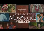 Princess Mononoke Abridged Logo