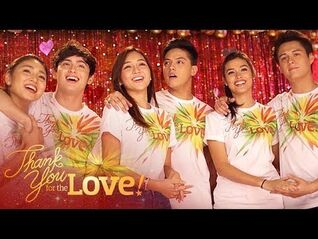 """ABS-CBN Christmas Station ID 2015 """"Thank You For The Love"""" Recording Music Video"""