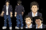 Ryuutarou Tatsuno Character Design