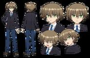 Aoi Torasaki Character Design