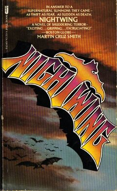 Nightwing Martin Cruz Smith 1978 Jove pbk.jpg