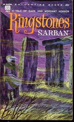 Ringstones, (1961, Sarban, publ Ballantine Books, 498K, $0 35, 139pp, pb) Cover - Richard Powers.jpg