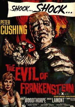 The Evil of Frankenstein (1964) poster.jpg
