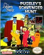 The Addams Family Pugsley's Scavenger Hunt Boxart