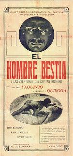 The Beast Man (1934) - Argentina.jpg