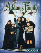 Addams Family video game box art