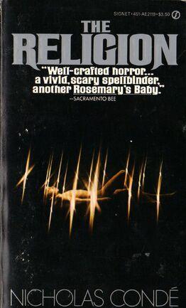 The Religion nicholas conde 1982 Signet pbk.jpg