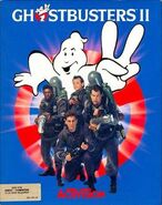 Ghostbusters II computer game cover art