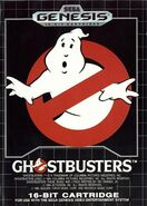 Ghostbusters (1990) game cover