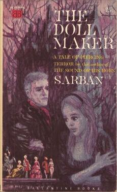 The Doll Maker, (1960, Sarban, publ Ballantine Books, 431K, $0 35, 144pp, pb).jpg