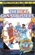 The Real Ghostbusters 1987 game cover