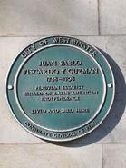 Vizcardo plaque Baker Street