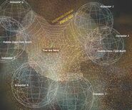 Cyclical Mutiverse Theory (possible situtated position of the Milky Way)