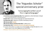 Arguedas Scholar