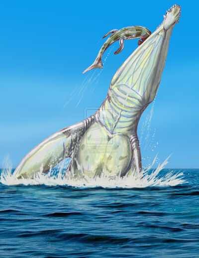 Giant pliosaur by DiBgd.jpg