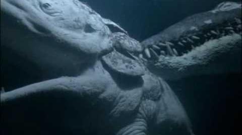 Caminando entre Dinosaurios - Especial - Monstruos del Océano 8 9
