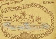Elísio mapa