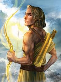 Apollo, the god of healing