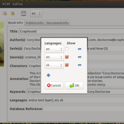 ACBF Editor - Creating Text Layers