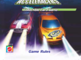 Acceleracers Collectible Card Game