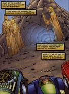 Acceleron Statues Comic