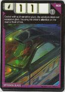 Diffusion Glass Card