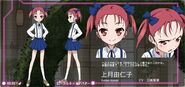 Accel World Anime Character Designs Kozuki Yuniko