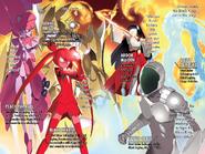 Accel World Light Novel Volume 13 - Coloured Illustration Page 2-3