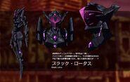 Accel World Anime Character Designs Kuroyukihime 3