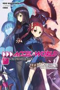 Accel World Light Novel Volume 19 - English Cover