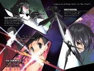 Accel World Light Novel Volume 18 - Colour Illustration Page 2-3