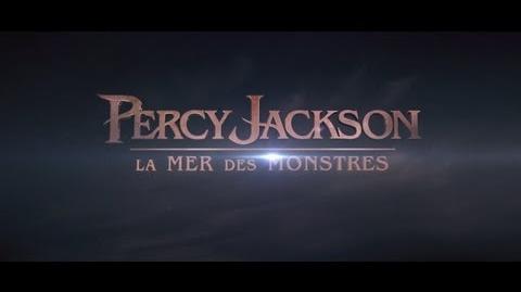 Percy Jackson La Mer des Monstres - Bande annonce VOST HD