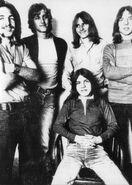 Malcolm Young en 1971-1972 con The Velvet Underground, 2