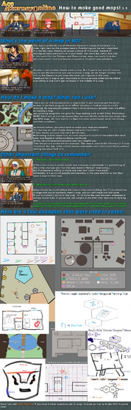 Map guide 1-3